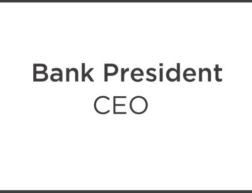 Bank President
